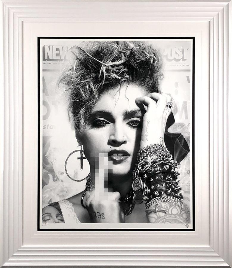 Lucky Star By JJ Adams Framed Art Print