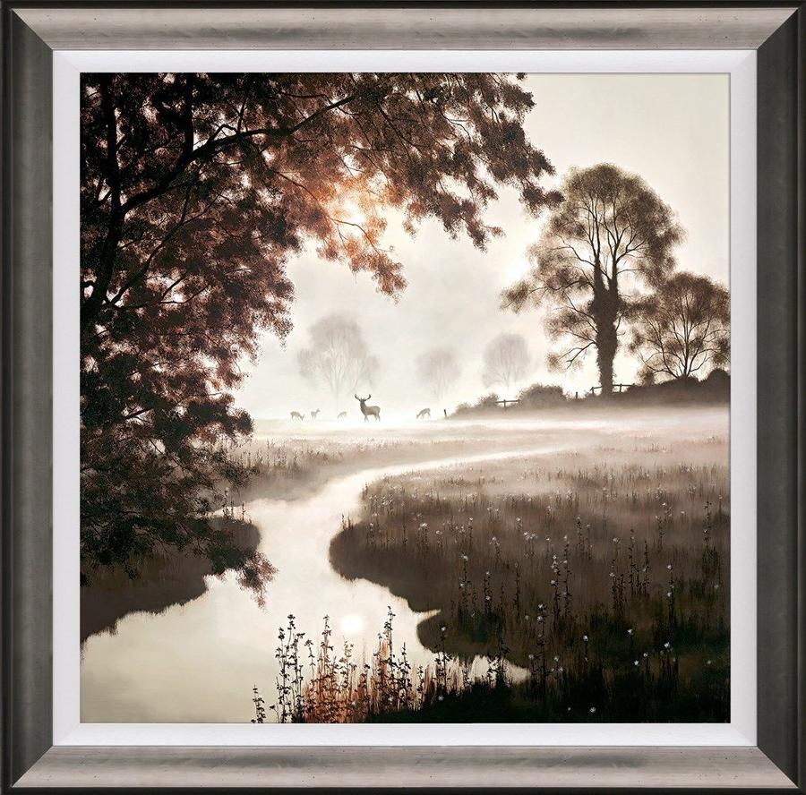 A Moment in Time by John Waterhouse Framed Art Print