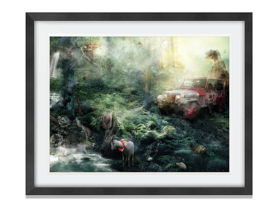 Life Will Find A Way Framed Art Print By Mark Davies