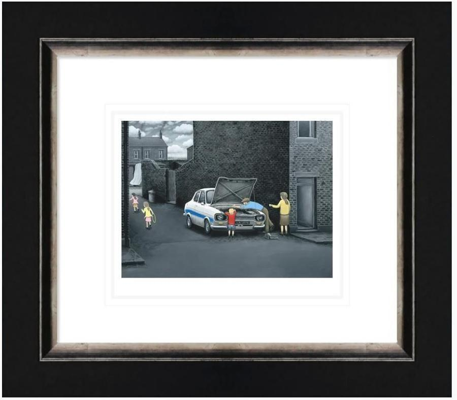 What Does That Part Do? Framed Art Print by Leigh Lambert