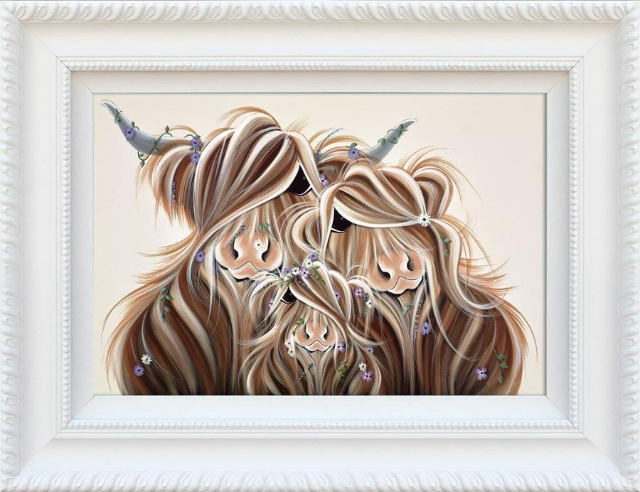 Precious McMoments by Jennifer Hogwood Framed Art Print