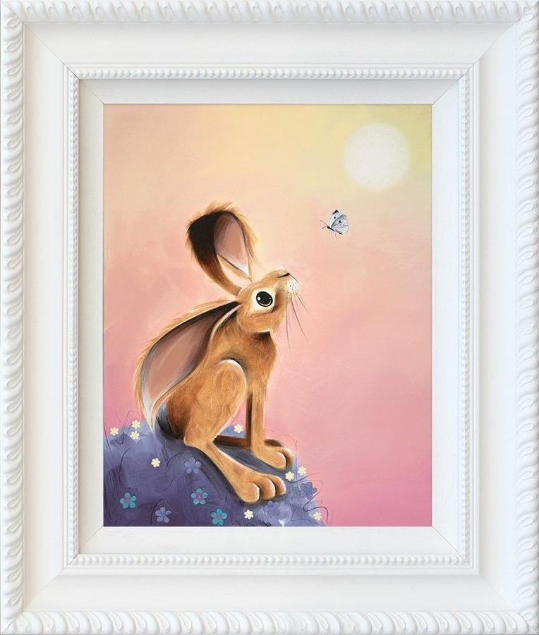 Sunbather by Jennifer Hogwood Framed Art Print