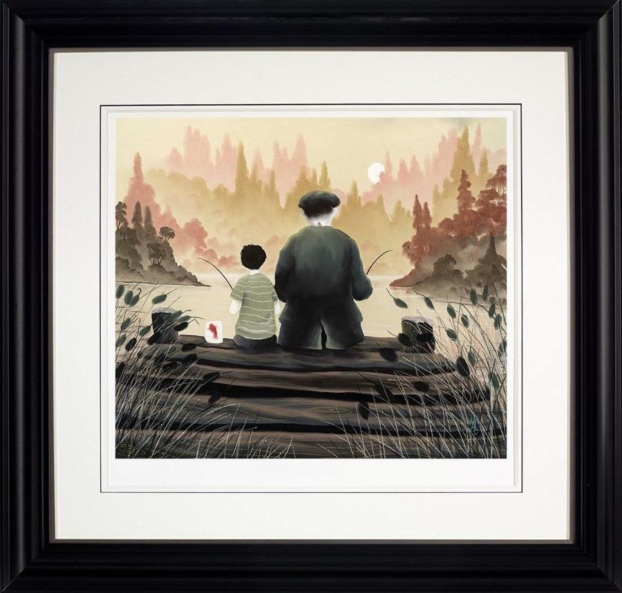 All Our Yesterdays by Mackenzie Thorpe Framed Art Print.