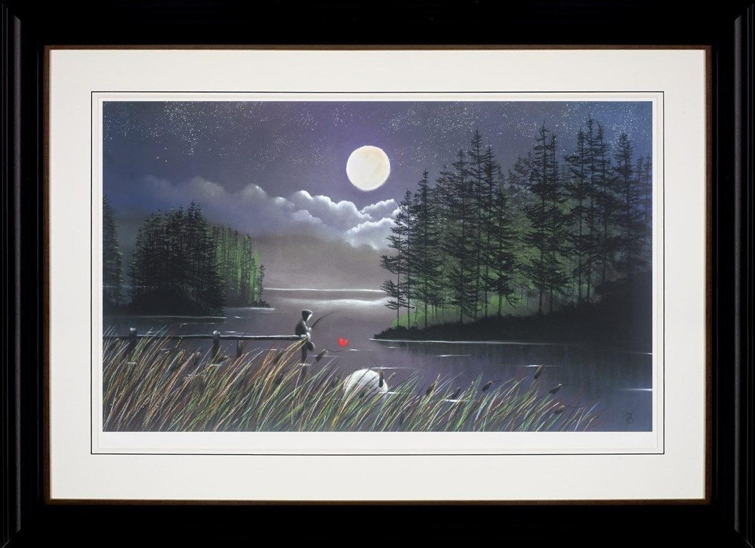 I'll Catch You the Moon by Mackenzie Thorpe Framed Art Print.