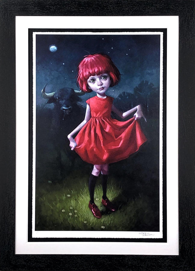 Dare By Craig Davison Framed Art Print