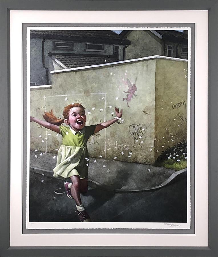 Faith Trust & Pixie Dust By Craig Davison Framed Art Print