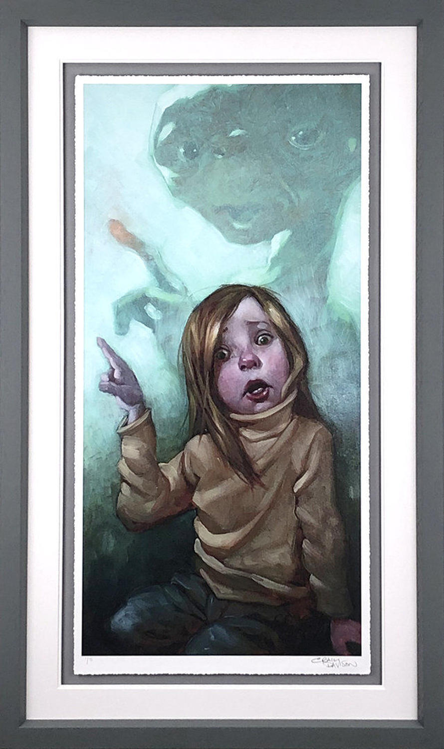Owwwch By Craig Davison Framed Art Print