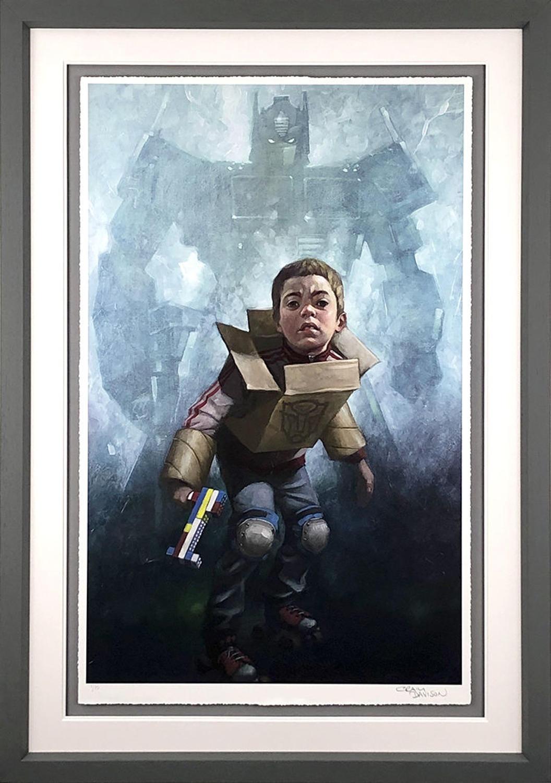 Robert's In Disguise By Craig Davison Framed Art Print