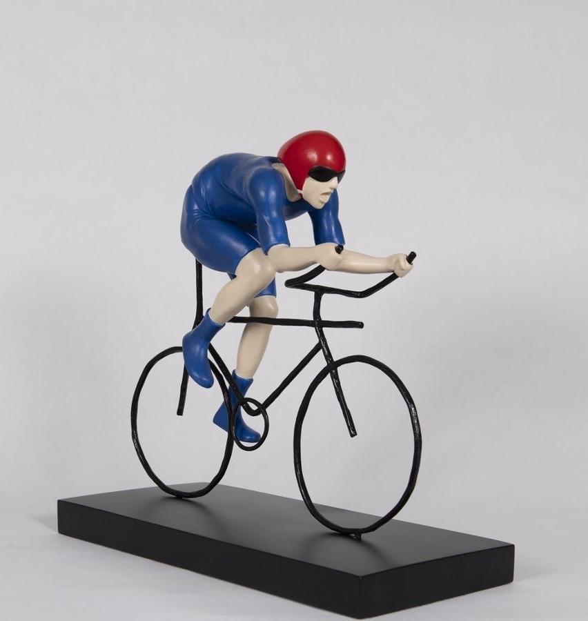 The Fastest by Mackenzie Thorpe by Mackenzie Thorpe - Sculpture