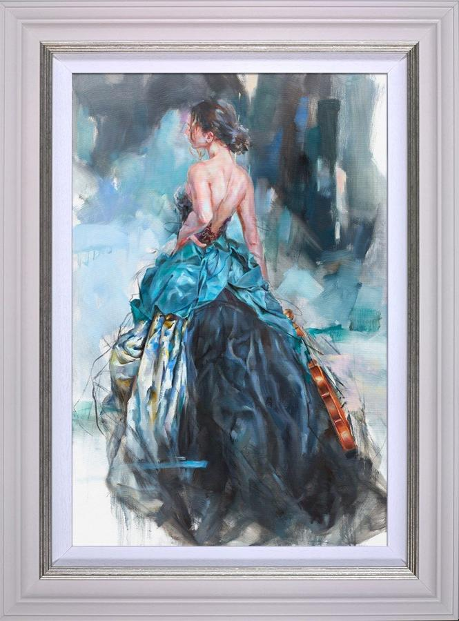 Woven Dreams II by Anna Razumovskaya Framed Canvas Art Print