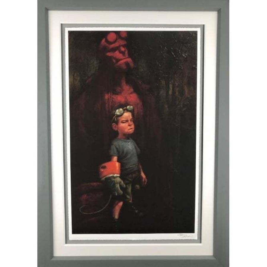 Hell Yeah By Craig Davison Framed Art Print