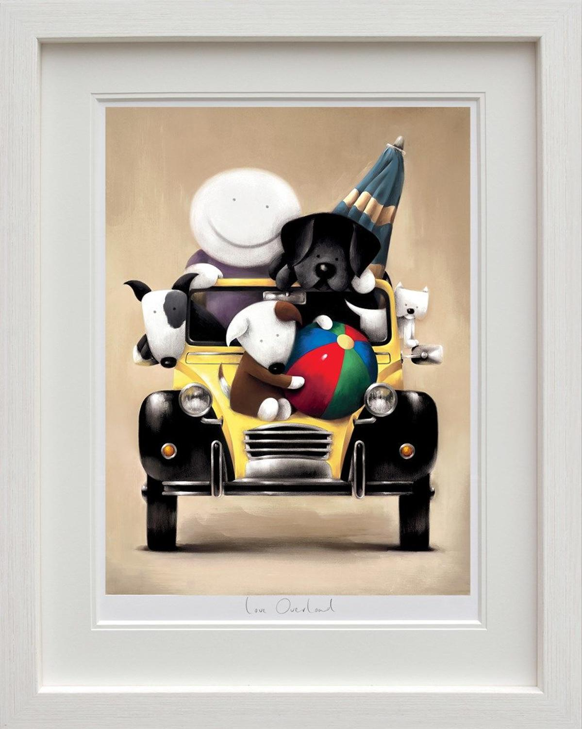 Love Overload Framed Art Print by Doug Hyde