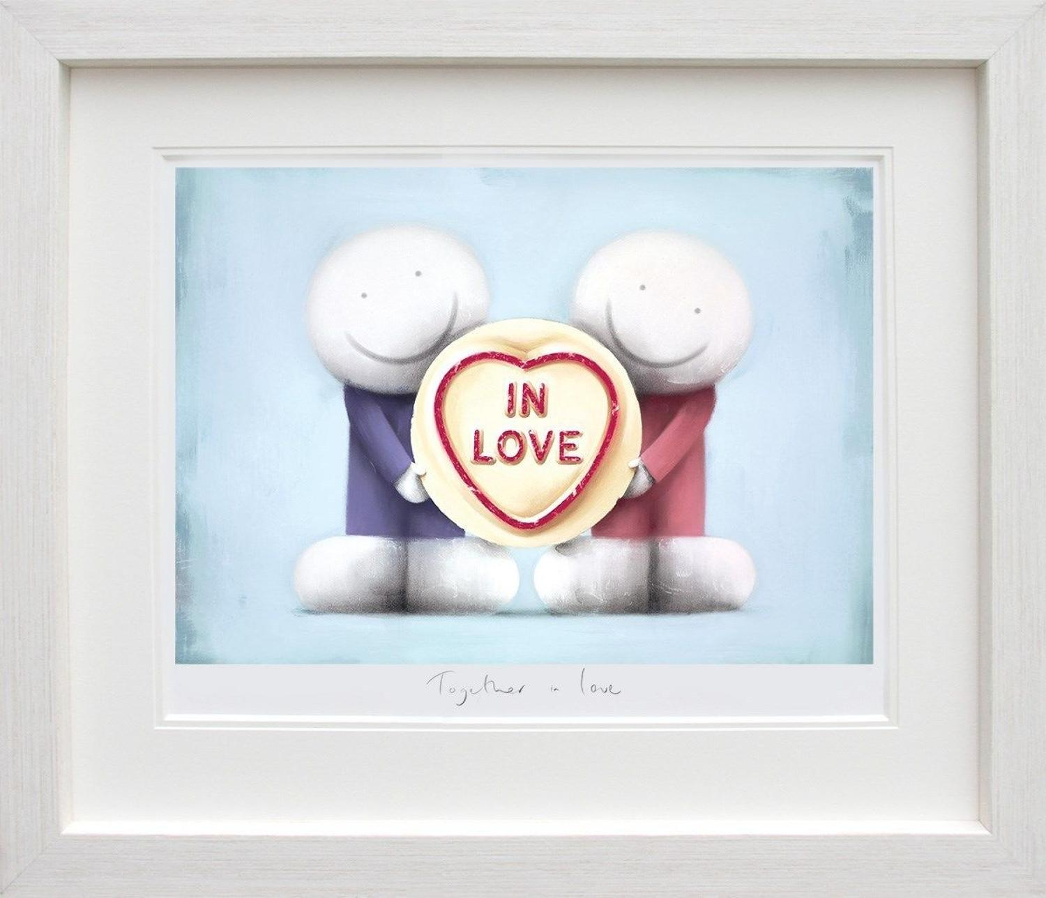 Together in Love by Doug Hyde Framed Art Print