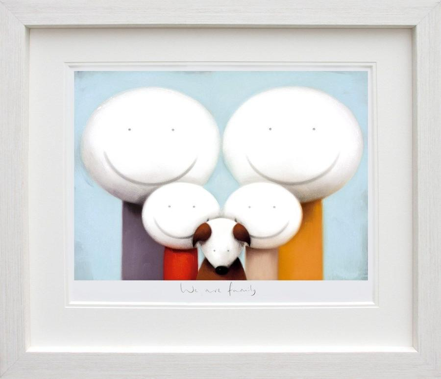 We Are Family by Doug Hyde Framed Art Print