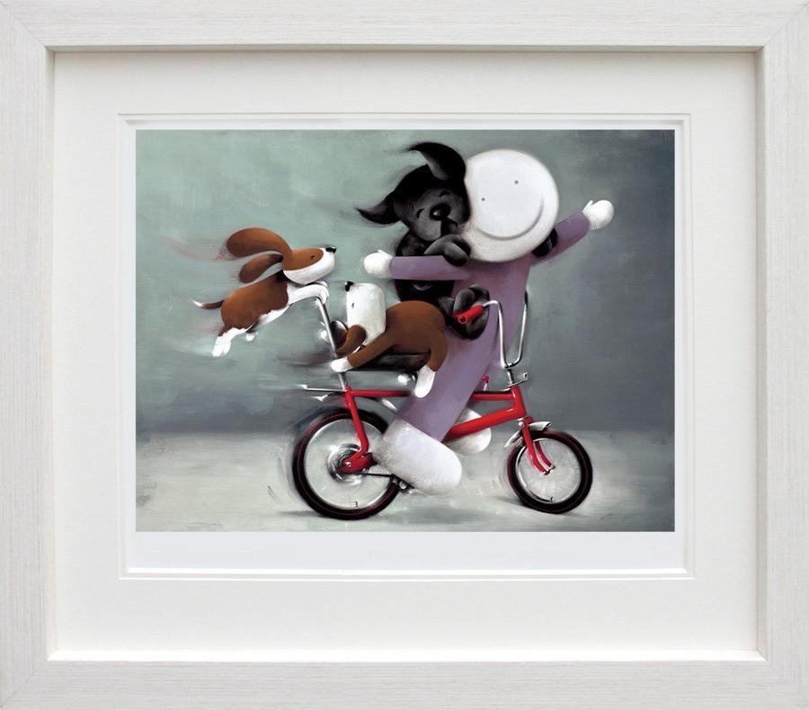 Riding High  by Doug Hyde Framed Art Print