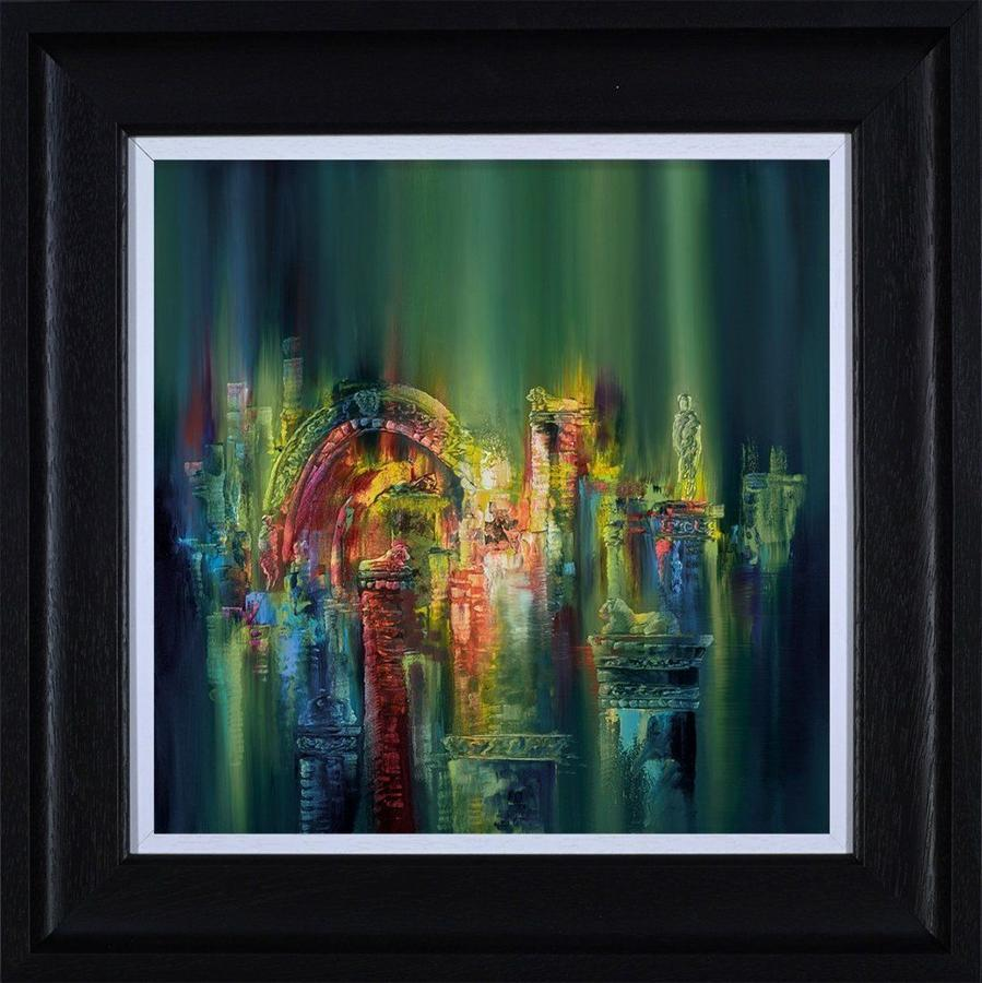 The Lost City Framed Art Print by Philip Gray