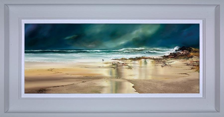 Ocean Quest Framed Art Print by Philip Gray