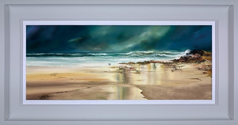 Ocean Quest Framed Art Print by Philip Gray