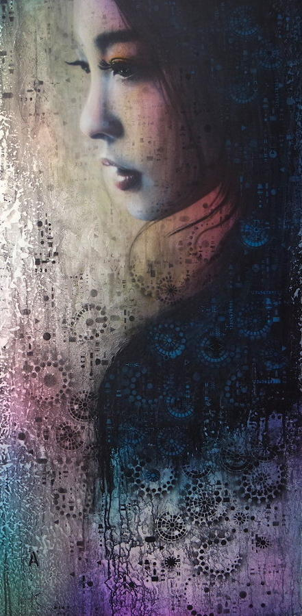 Geisha - Made In Japan Framed Art Print by Andrew Stewart.