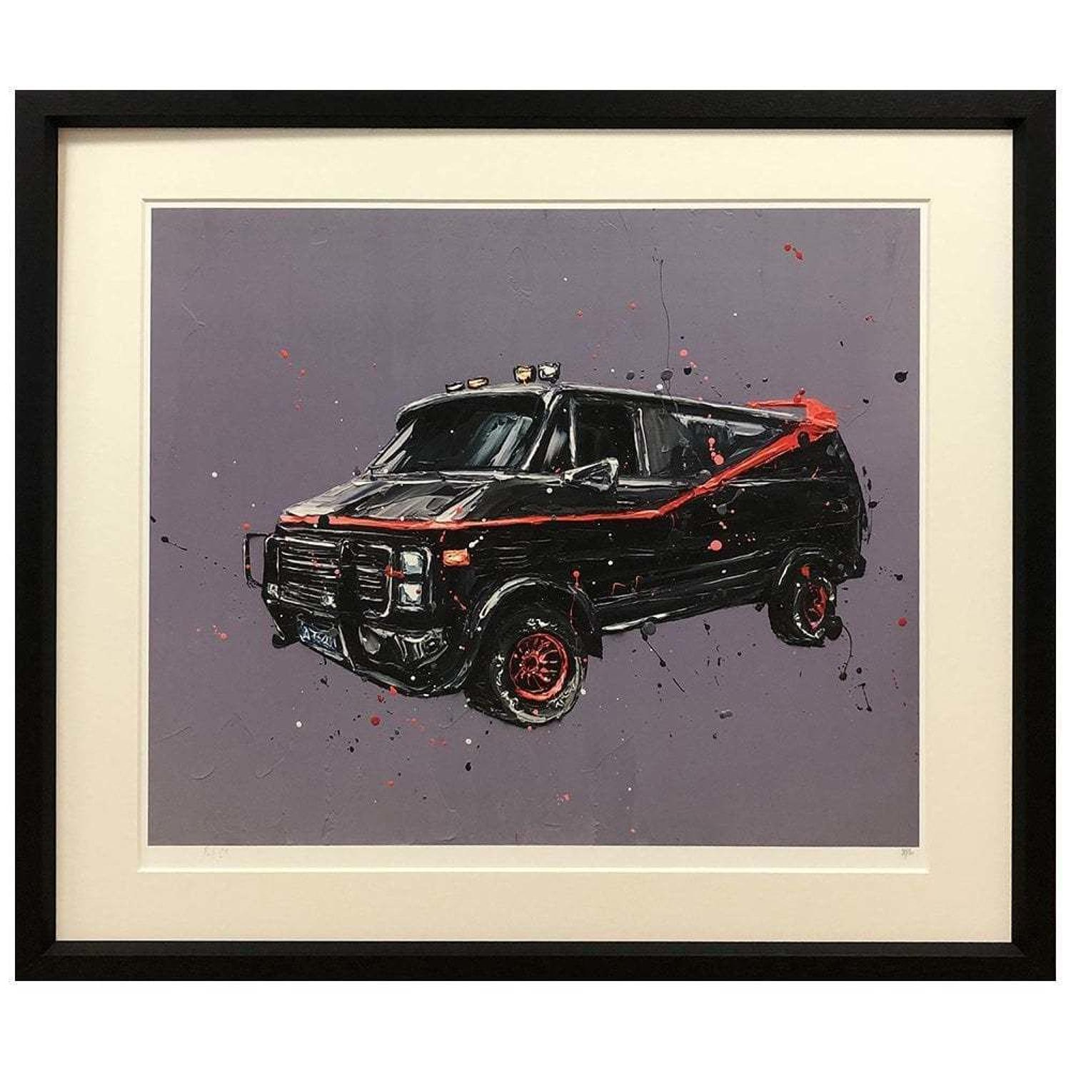 I Love It When A Plan Comes Together Framed Art Print Paul Oz