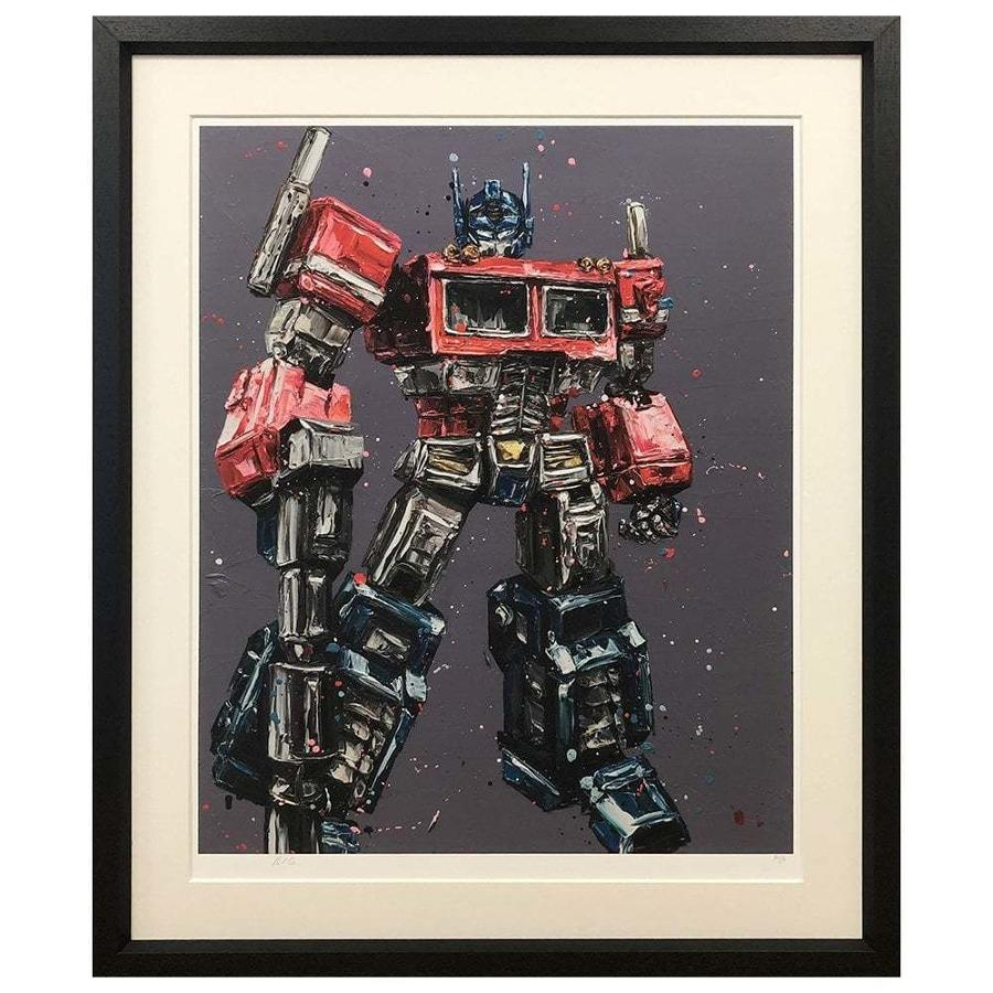 Transform & Roll Out Framed Art Print Paul Oz