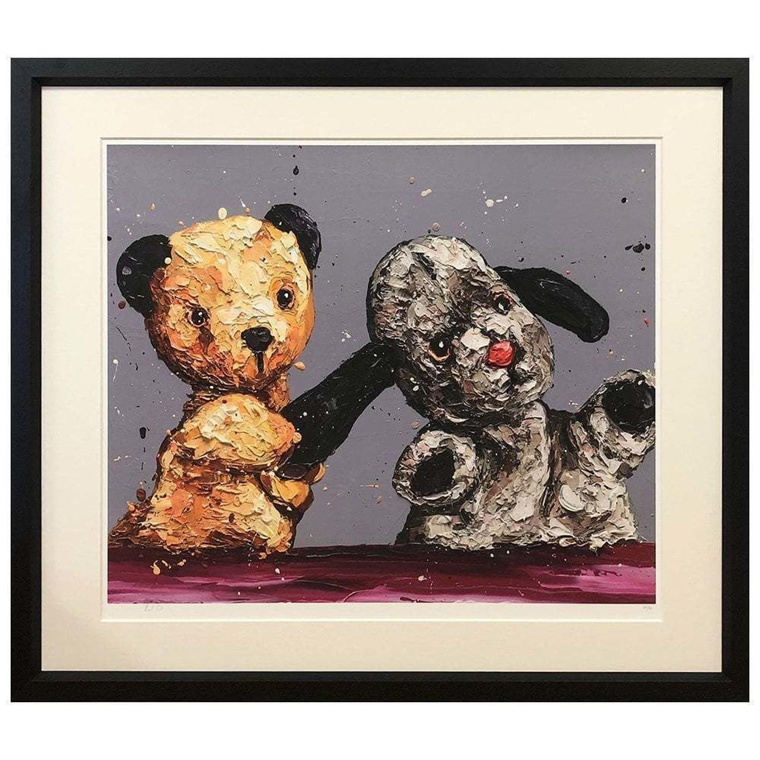 The Sooty Show Framed Art Print by Paul Oz