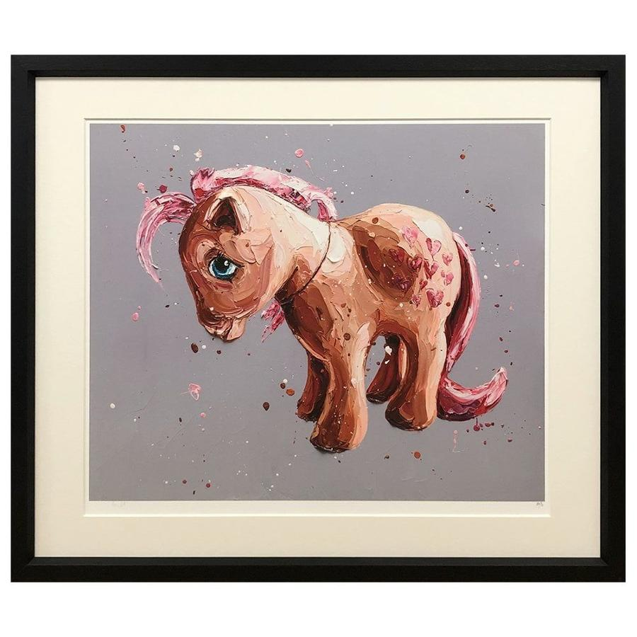 Peaches - My Little Pony Framed Art Print by Paul Oz