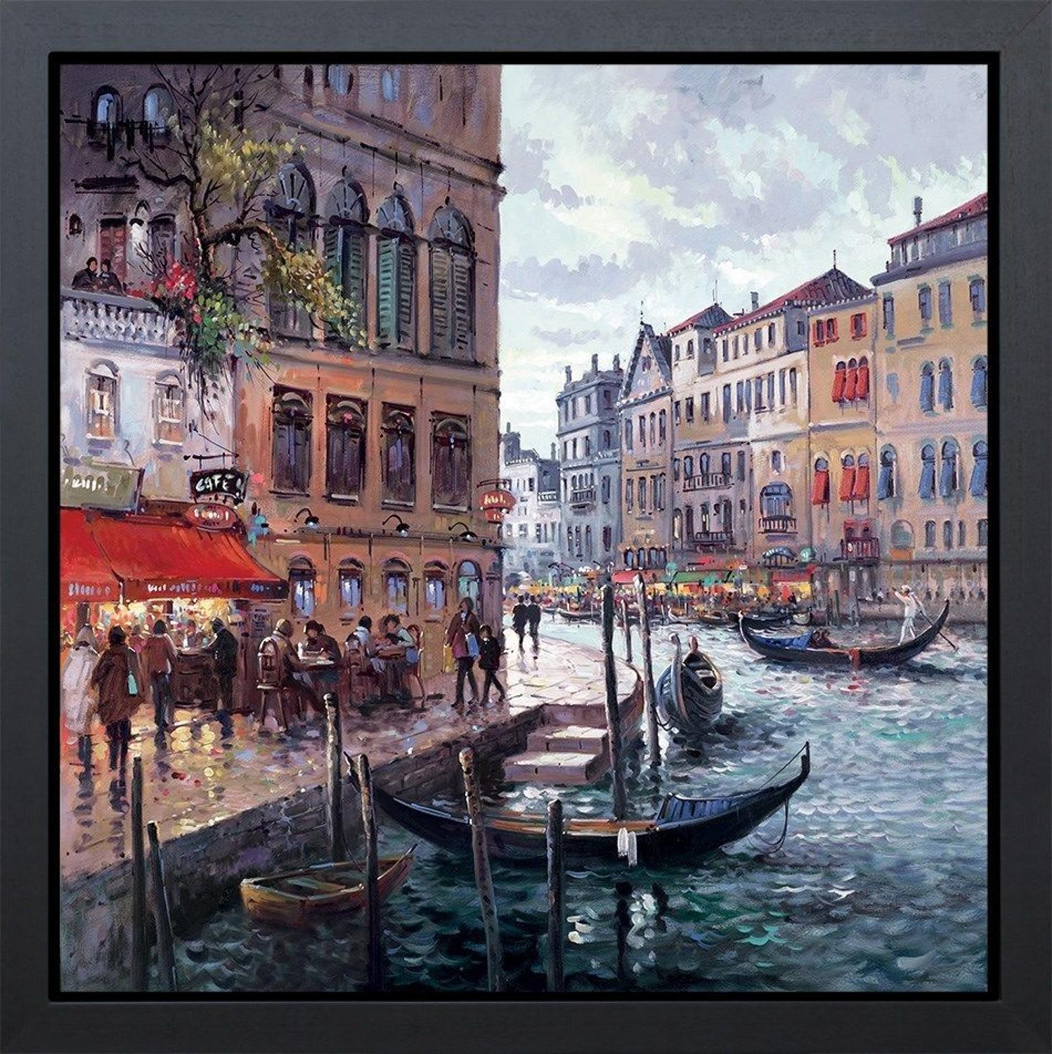 Dreaming Of Venice Framed Art Print by Henderson Cisz