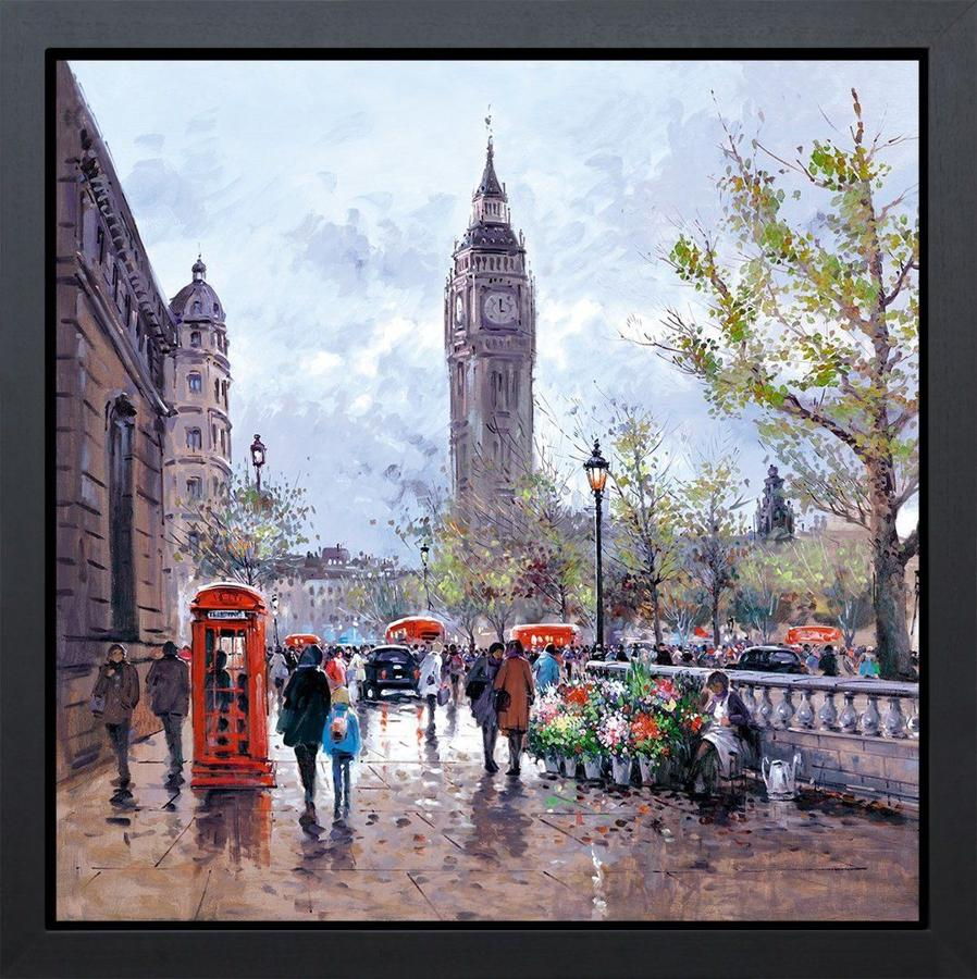 Memories Of London Framed Art Print by Henderson Cisz