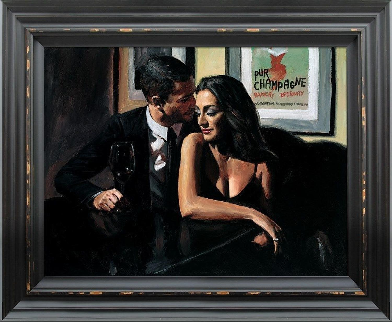 Proposal at Hotel Du Vin by Fabian Perez Framed Art Print