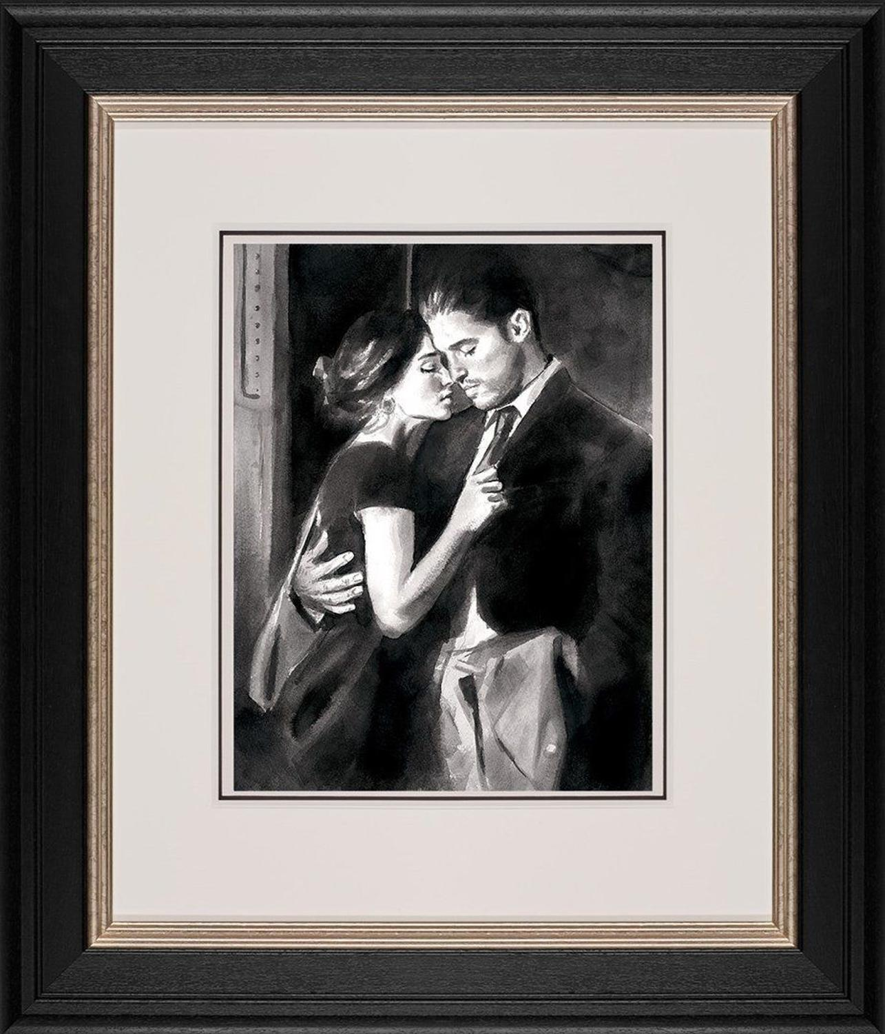 The Train Station V By Fabian Perez Framed Art