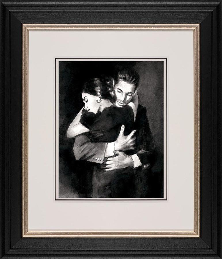 The Embrace II  By Fabian Perez Framed Art Print