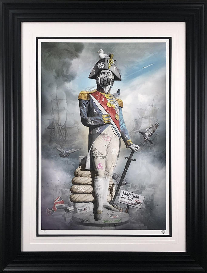 England Expects... Too Much Framed Art Print By JJ Adams