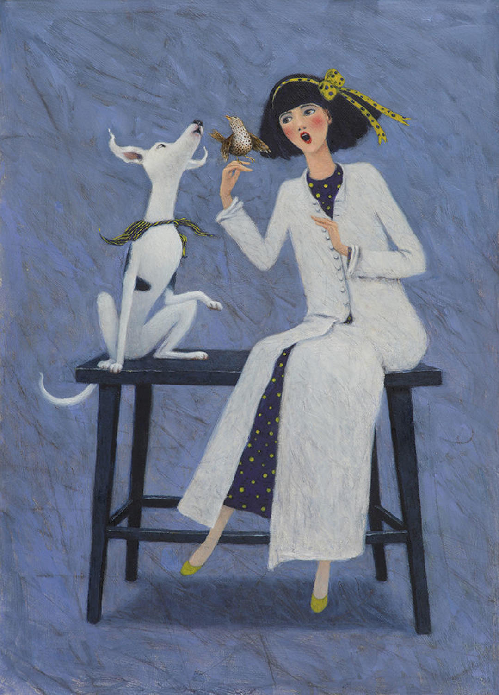 Singing Lessons Framed Art Print By Gwyn Jones