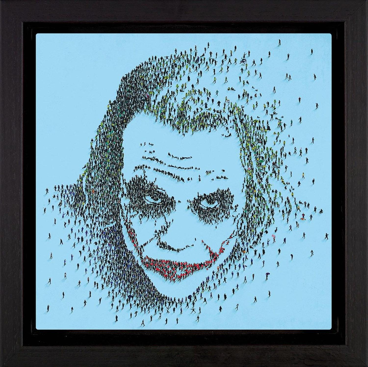 Nemesis Framed Aluminium Art Print by Craig Alan