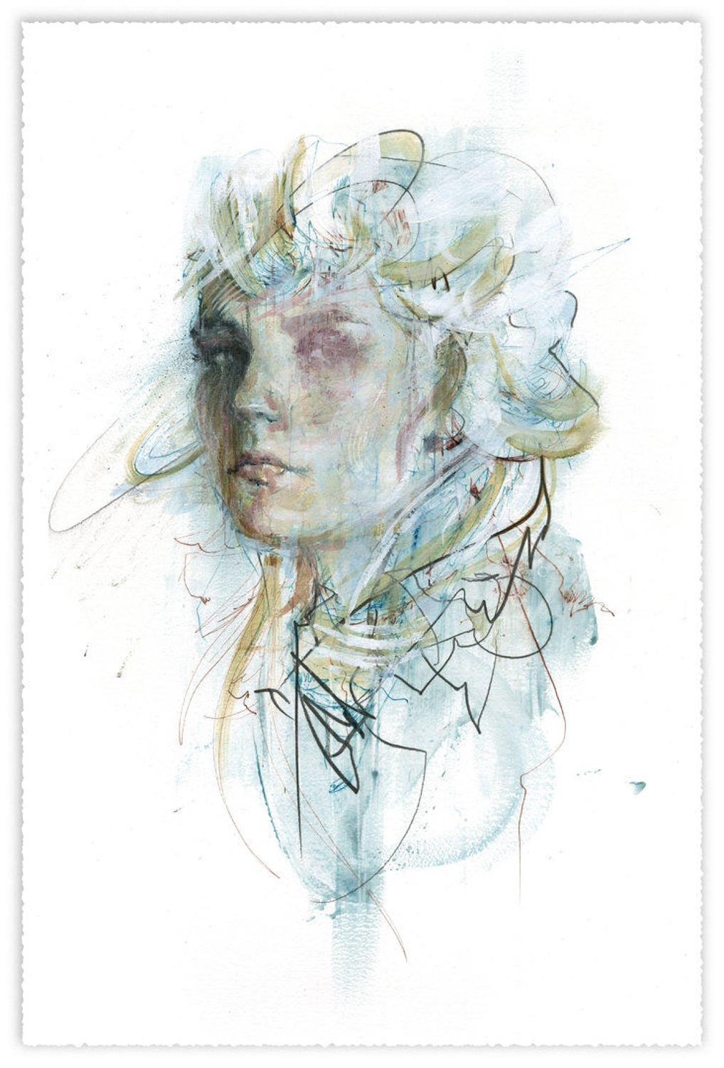 The Money Plant Art Print by Carne Griffiths