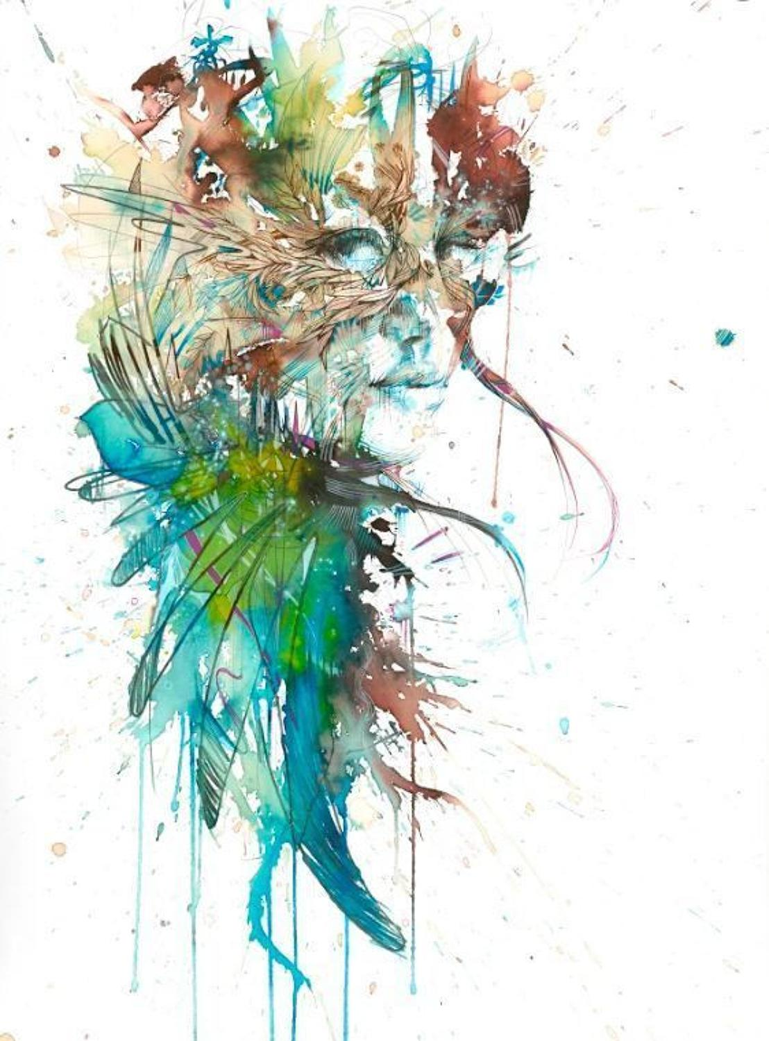 Eris, Goddess of Chaos Art Print by Carne Griffiths