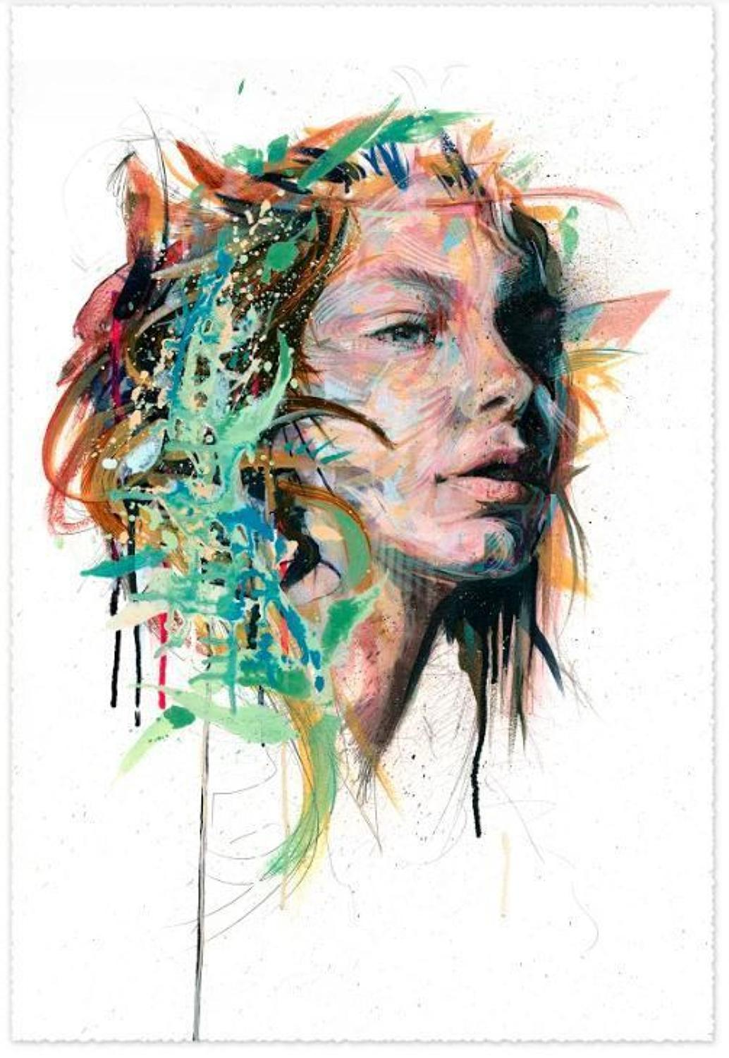 Emanate Art Print by Carne Griffiths