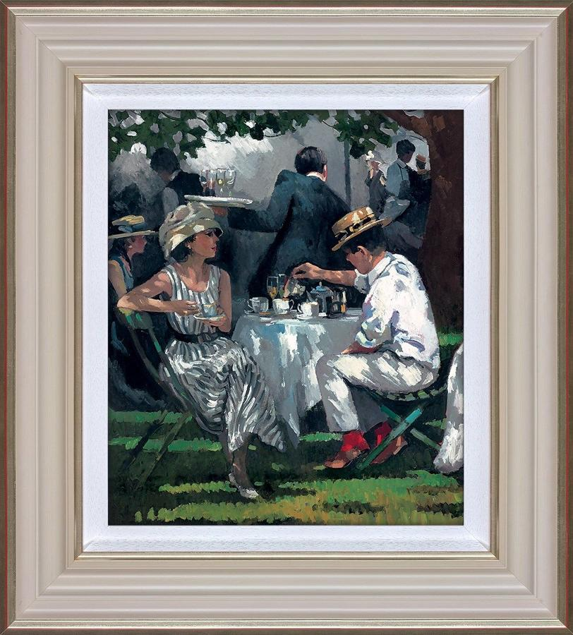 Afternoon Tea Framed Art Print By Sherree Valentine Daines