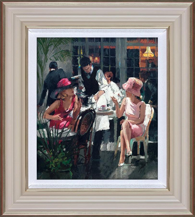 Cafe Royal Framed Art Print By Sherree Valentine Daines