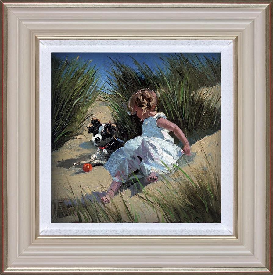 Playmates Framed Art Print By Sherree Valentine Daines