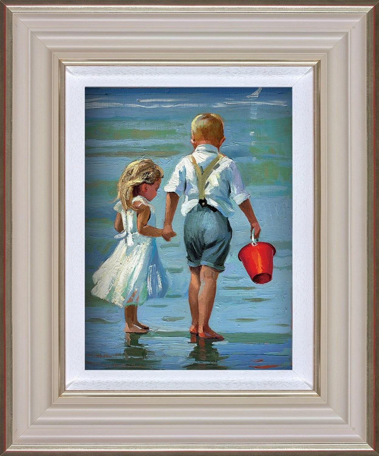 Hold On Tight Framed Art Print By Sherree Valentine Daines