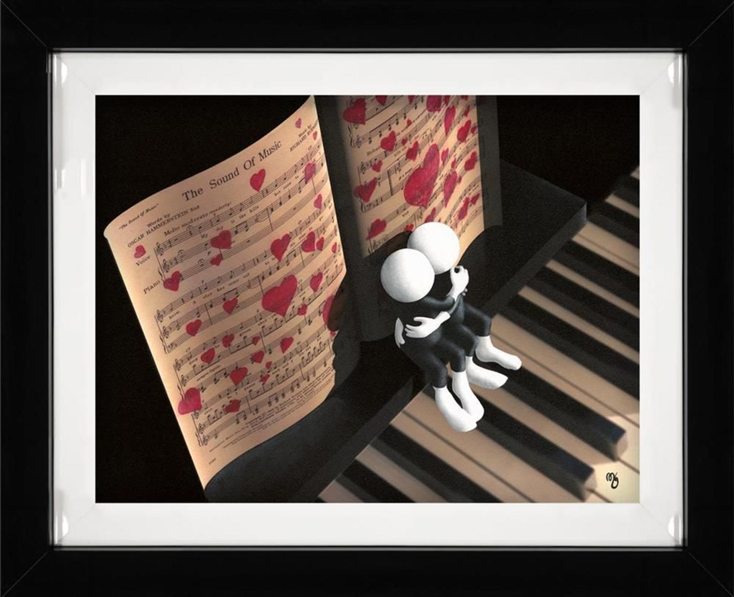 The Sound Of Music Framed Art Print By Mark Grieves