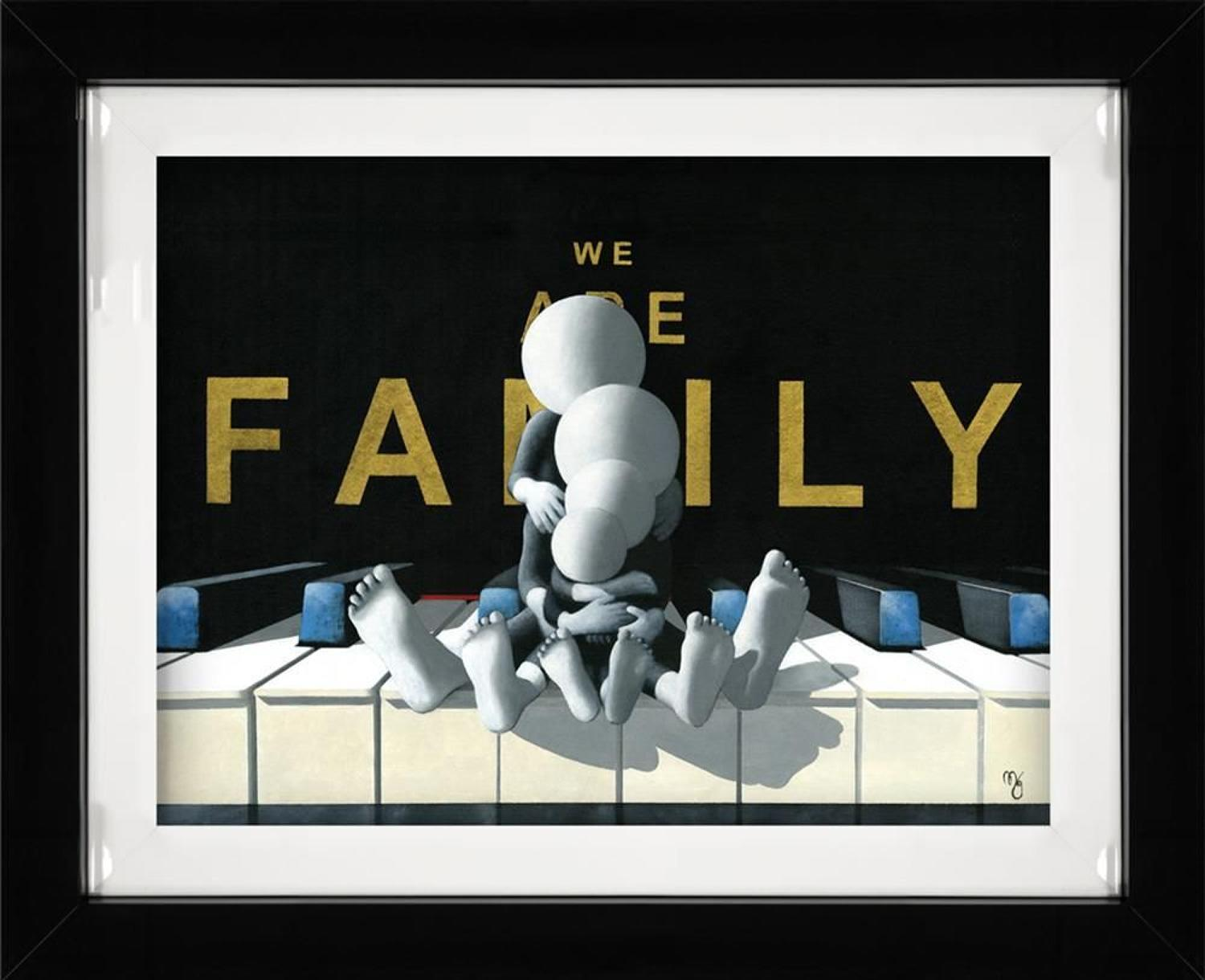 We Are Family Framed Art Print By Mark Grieves