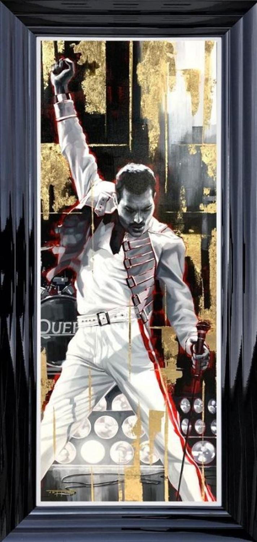 Mercury Framed Art Print by Ben Jeffrey
