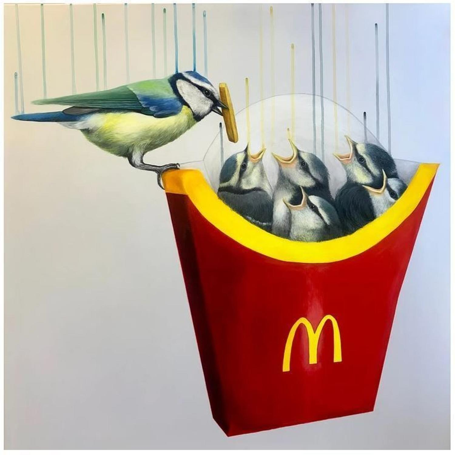 Instant Gratification - Art Print By Louise McNaught