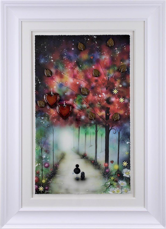 Mans Best Friend Framed Art Print by Kealey Farmer