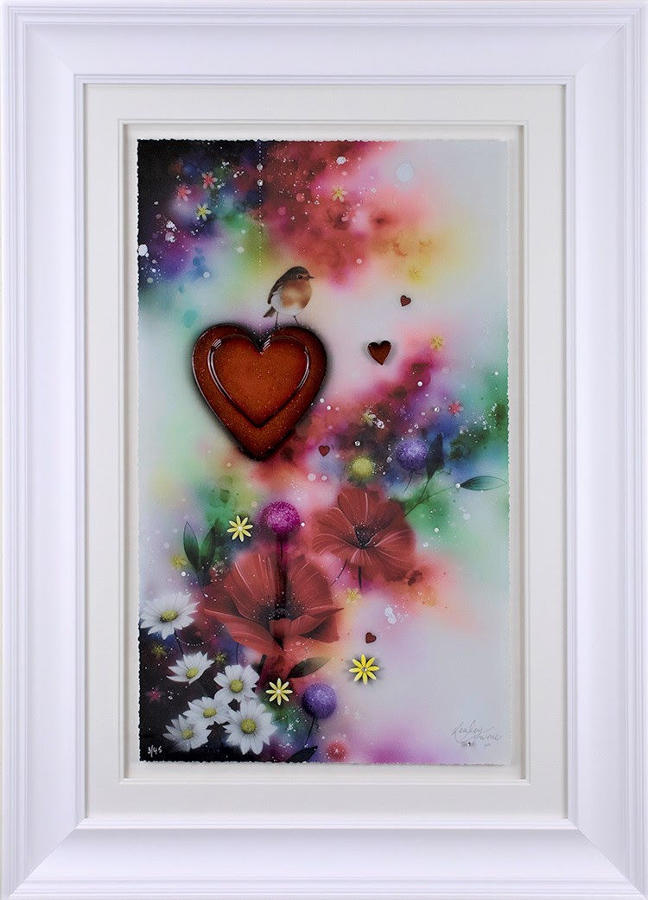 The Visitor Framed Art Print by Kealey Farmer