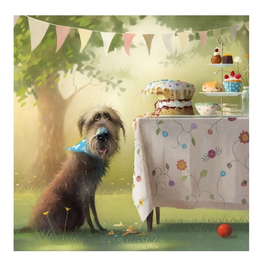 Afternoon Tea Art Print by Stephen Hanson
