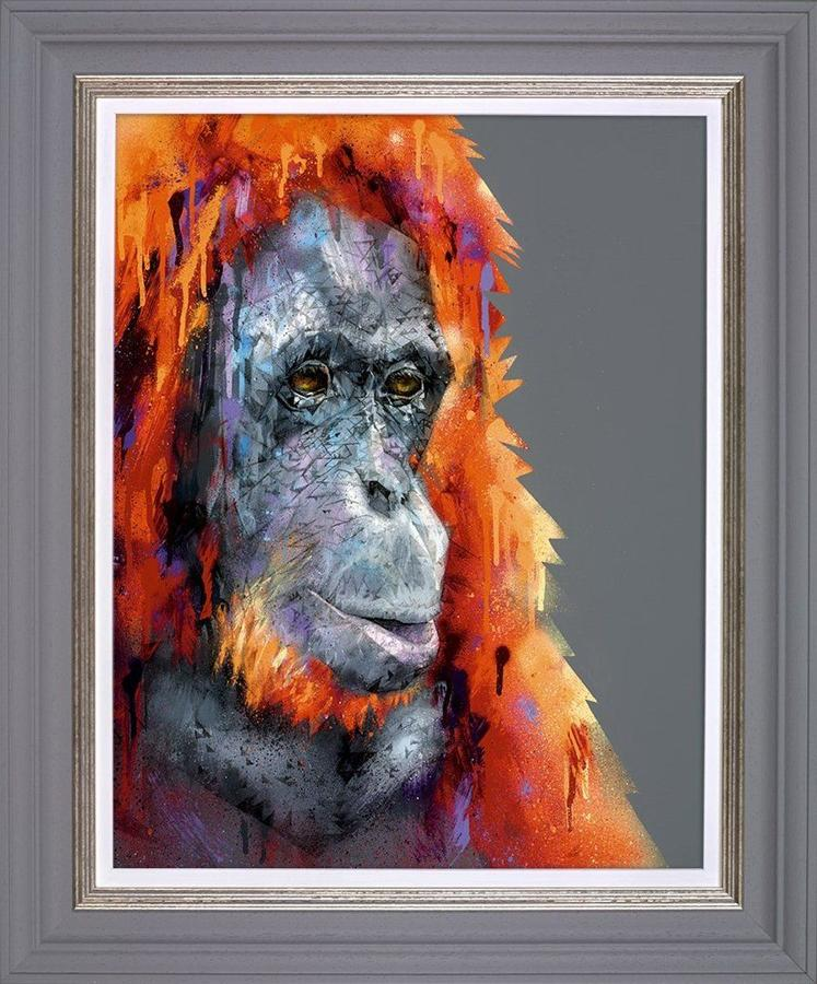 A Beautiful Mind Framed Art Print by Stephen Ford